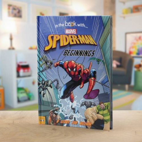 Personalised Marvel's Spiderman Beginnings Book